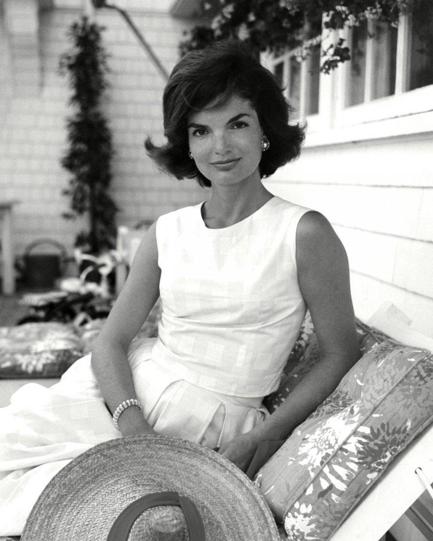 Rare Black & White Jackeline Kennedy Photo