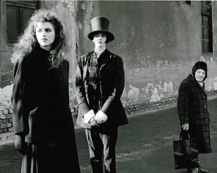 Rare Black & White European Photo