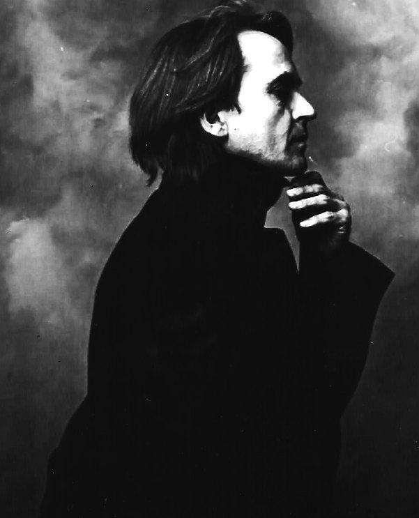 Rare Black & White Self Portrait