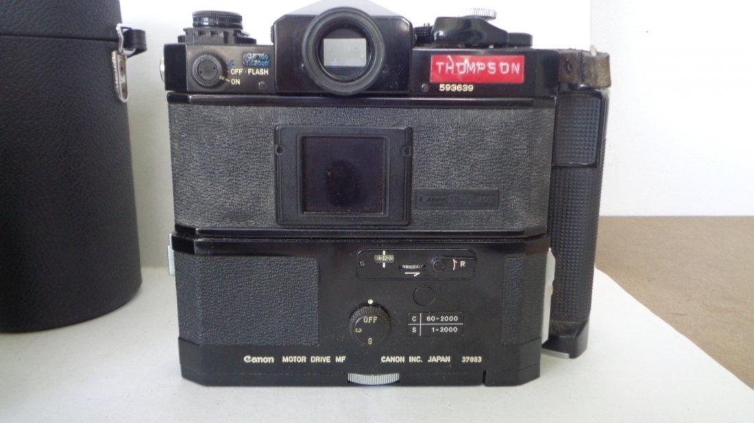 Canon F-1 Camera w/ Motor Drive w/ Lens - 4