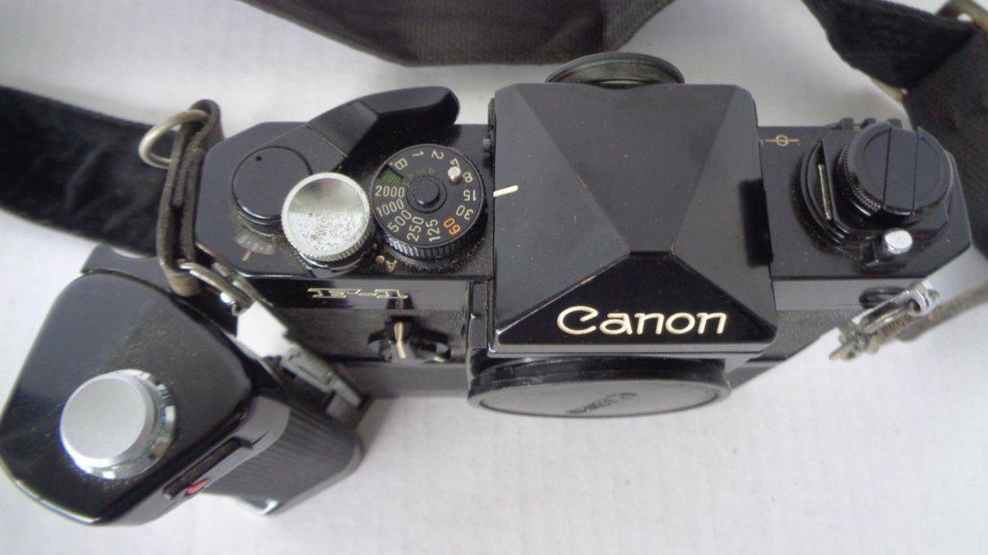 Canon F-1 Camera w/ Motor Drive w/ Lens - 8