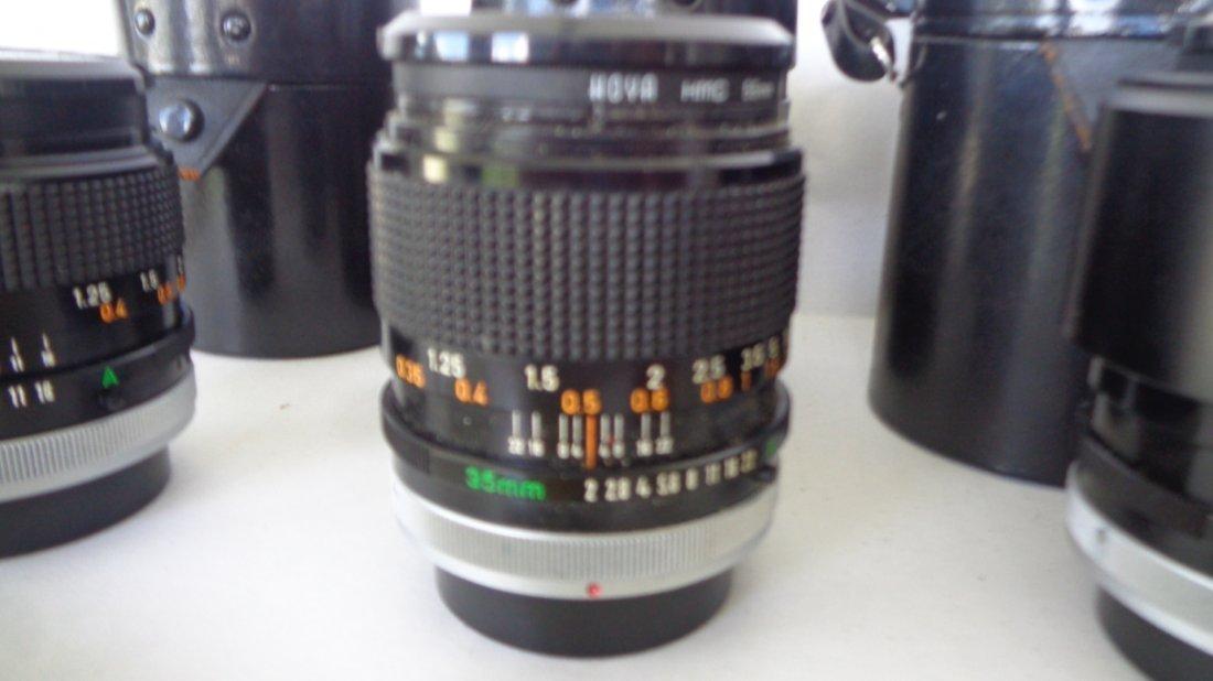 Canon F-1 Camera w/ Motor Drive w/ Lens - 9