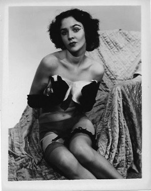 Vintage B&W Pinup Photo Sexy Girls