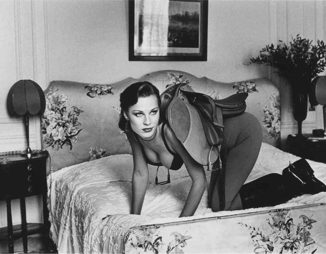 Black & White Helmut Newton -Photo