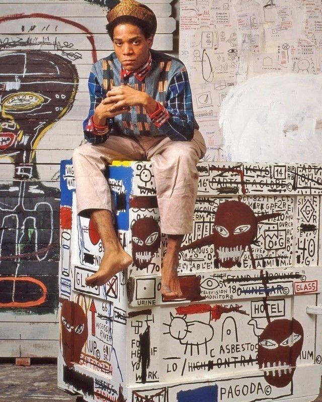 Jean-Michel Basquiat . N York . Fine Art Photo
