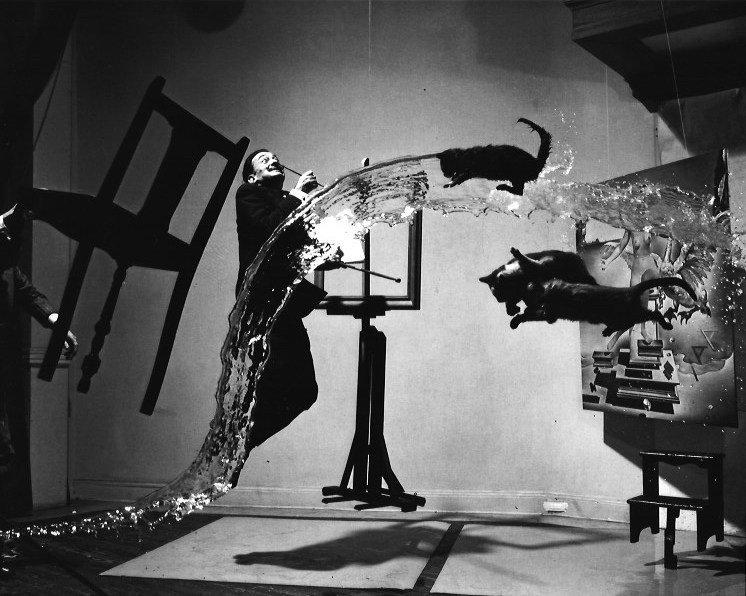 Black & White Dali Photo