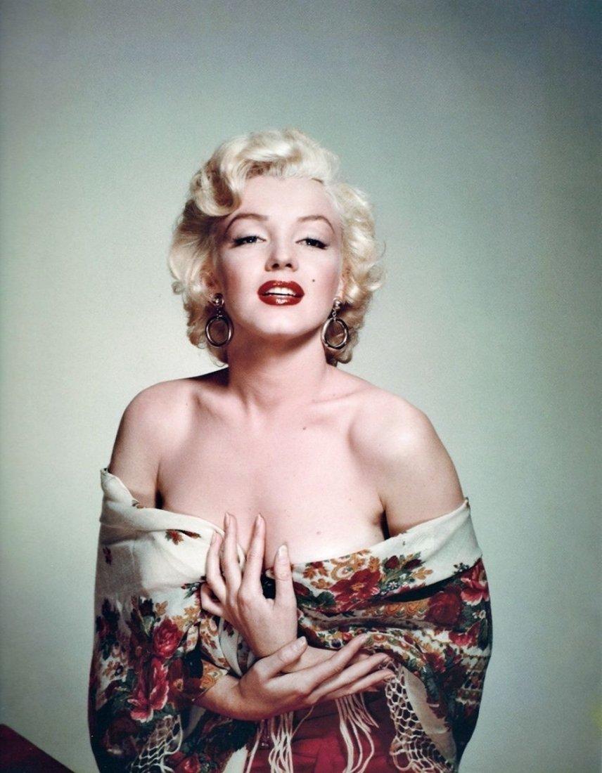 Colored Marilyn Monroe Photo