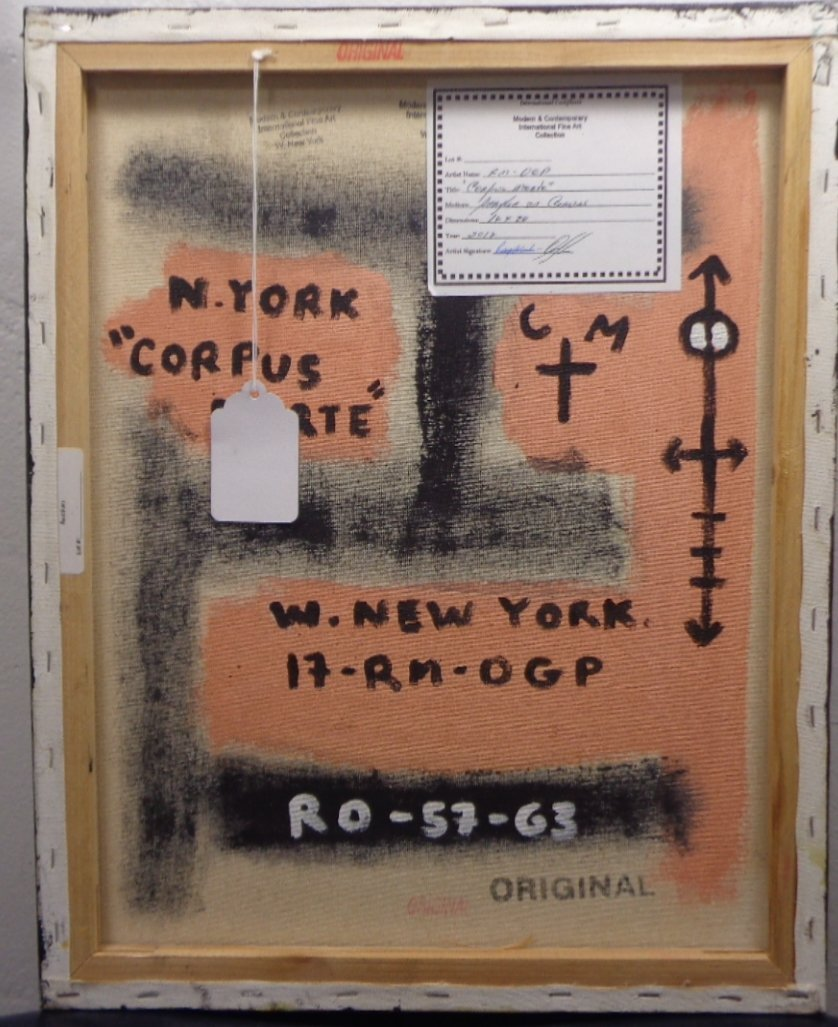 Original Painting on Canvas New York Painting Mixed Med - 2