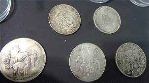 Lot of 5 Chinese Coin/Case