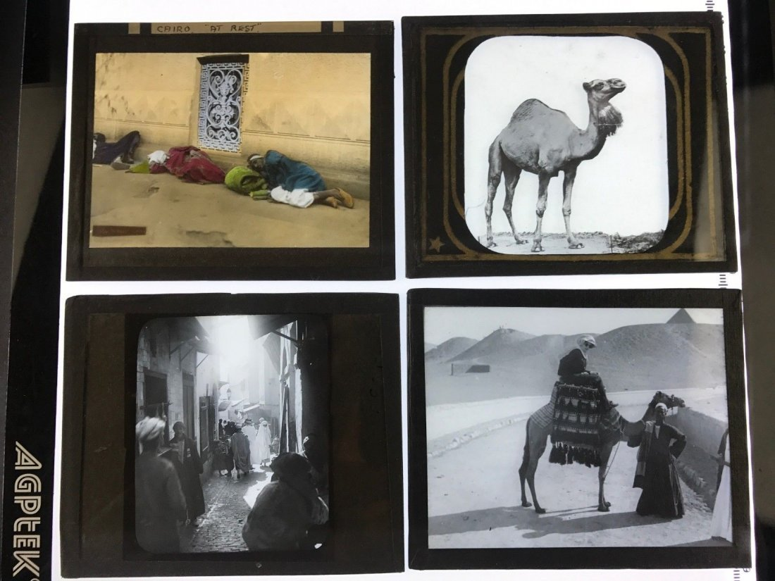 Lot of 4 early 1900's. B&W Vtg Egypt Middle East Africa