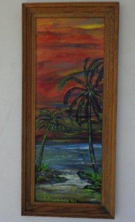 Original Florida Landscaping Painting Signed