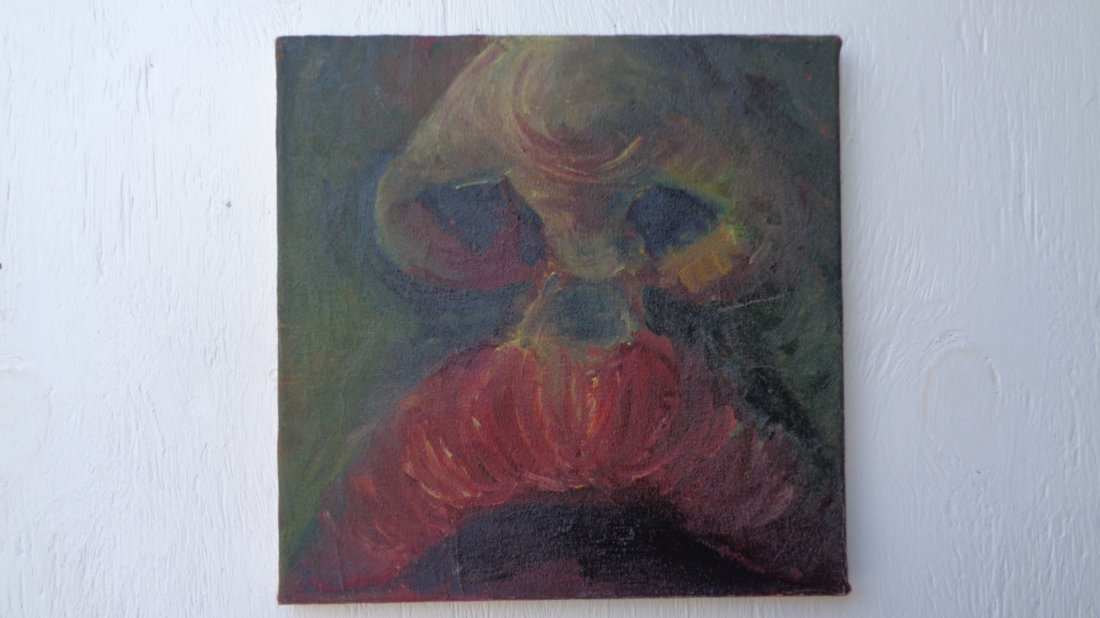 Lot of 4 Original Oil Painting on Canvas - 4
