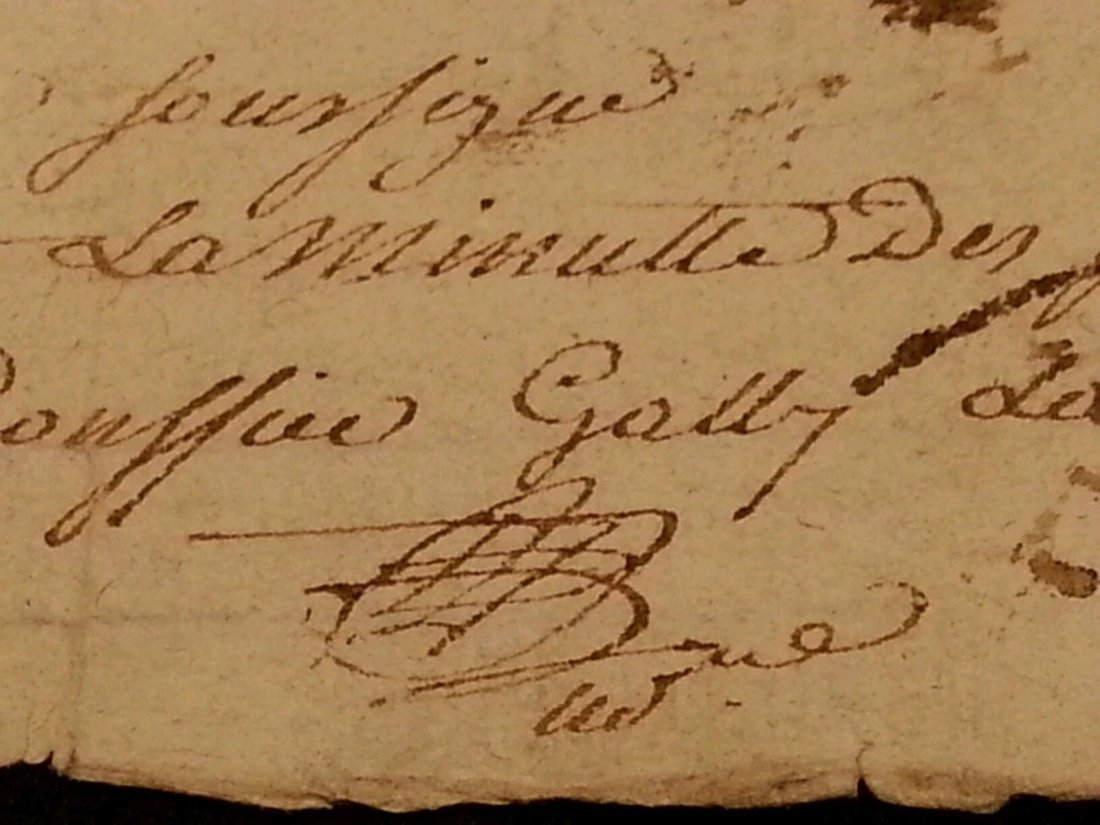 Antique 1795 Notary Document- 8 Pages