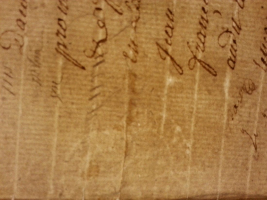 Antique 1795 Notary Document- 8 Pages - 7