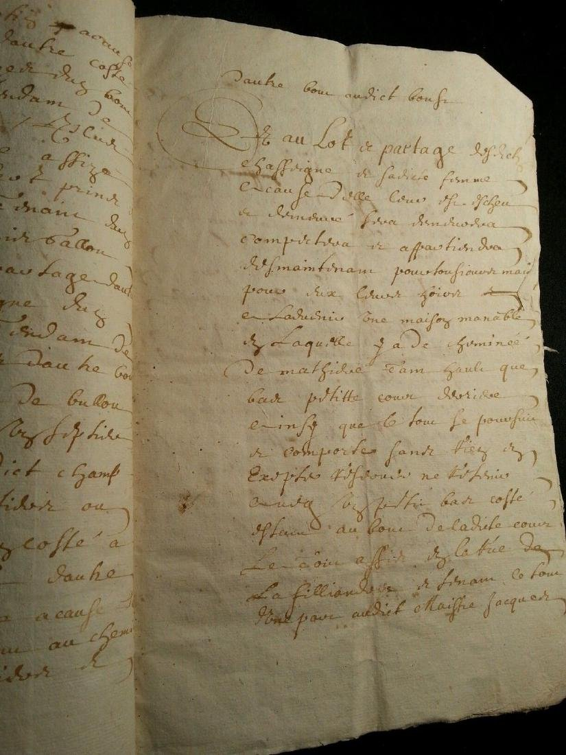 1611 - 34 Pages Antique French Document - 3