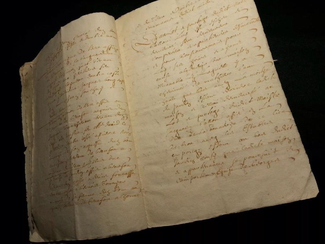 1611 - 34 Pages Antique French Document - 5