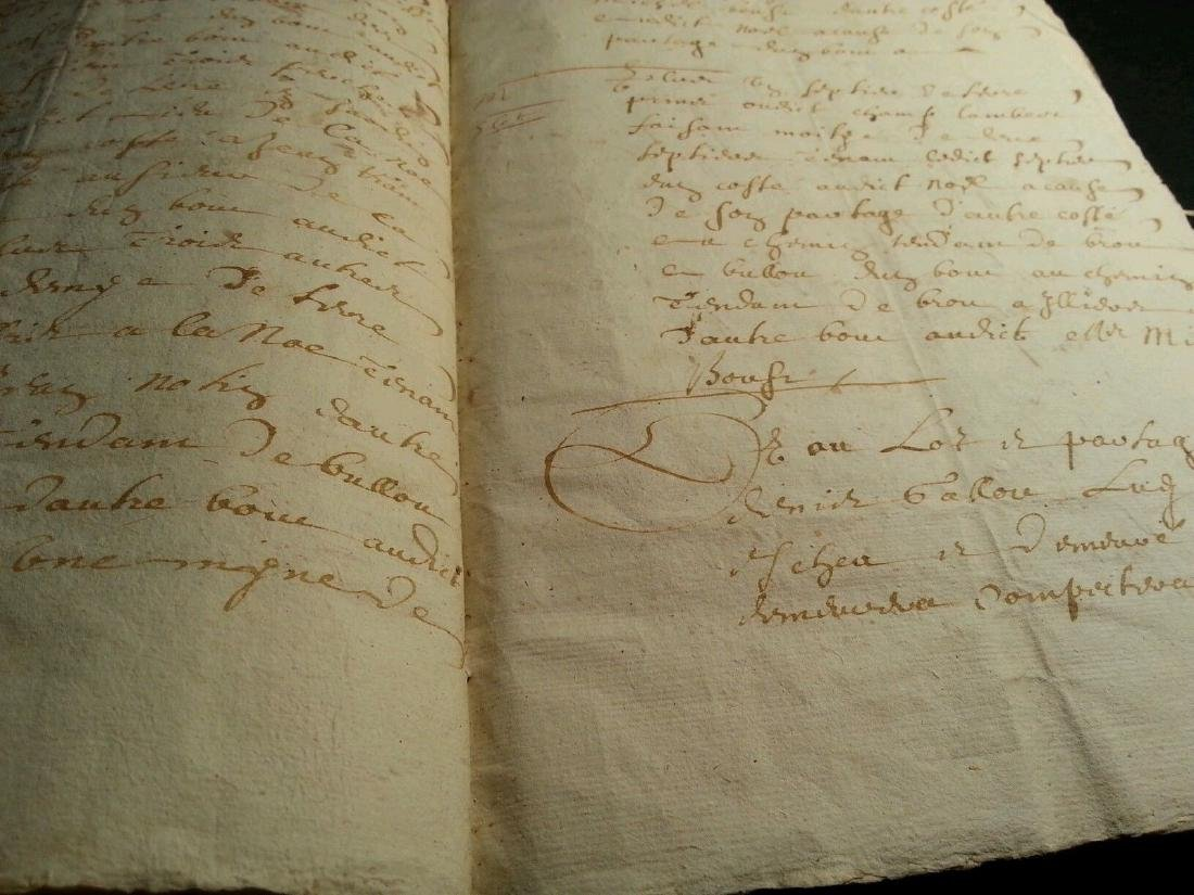 1611 - 34 Pages Antique French Document - 6