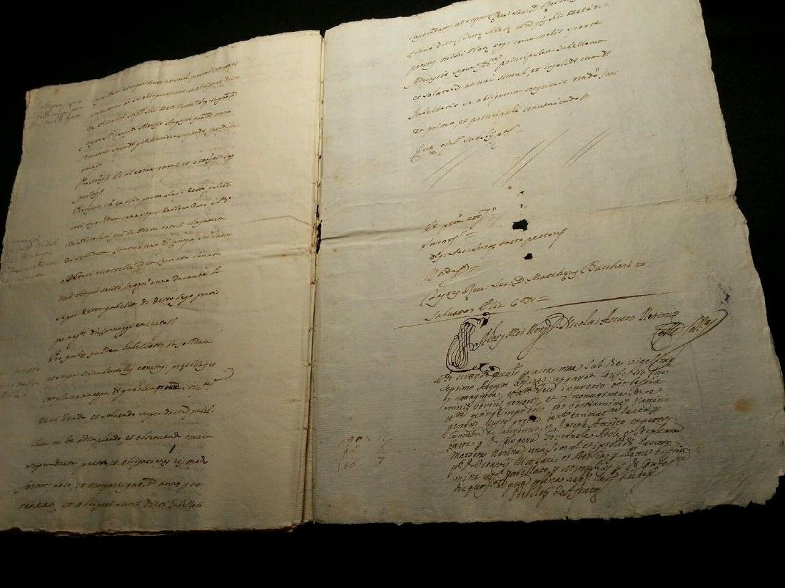 1746 Antique Italian 16 pages Documents - 3