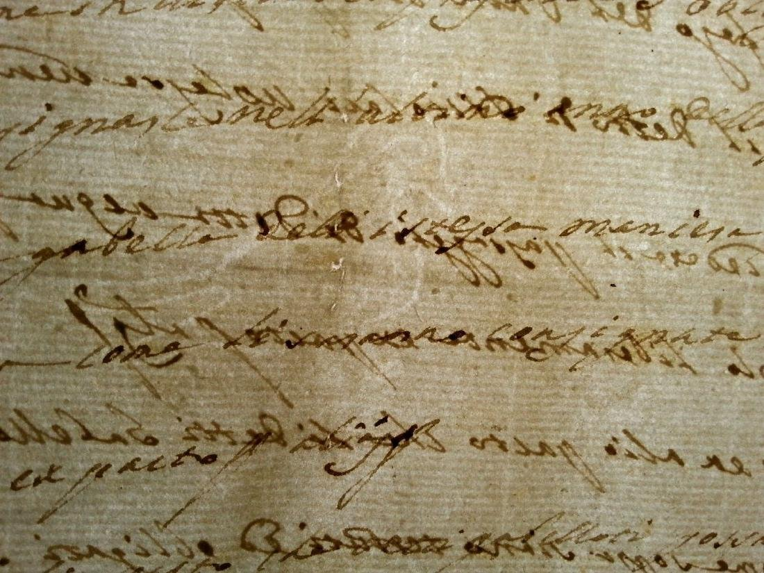 1746 Antique Italian 16 pages Documents - 6