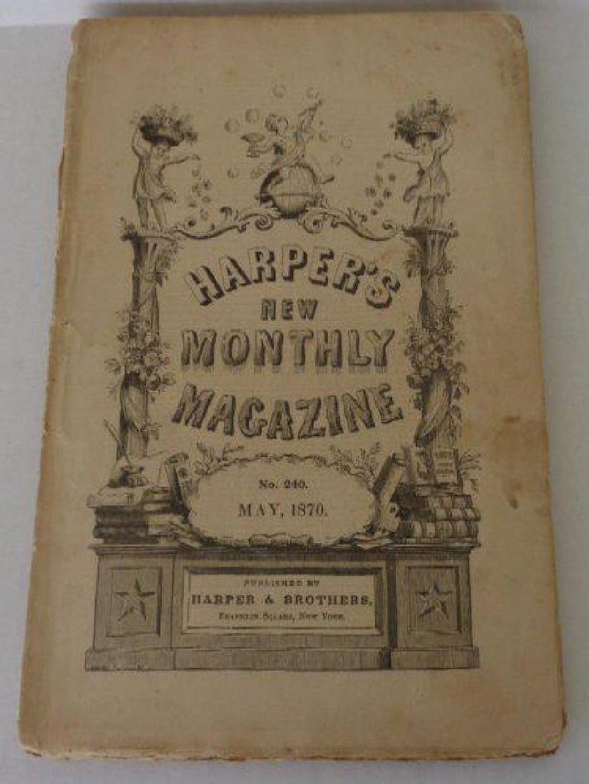 Harper Monthly Magazine No:240 May 1870