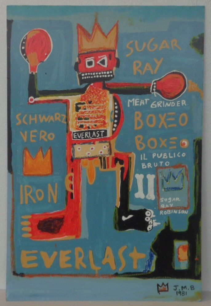 Original Painting on Canvas New York Painting Mixed Med