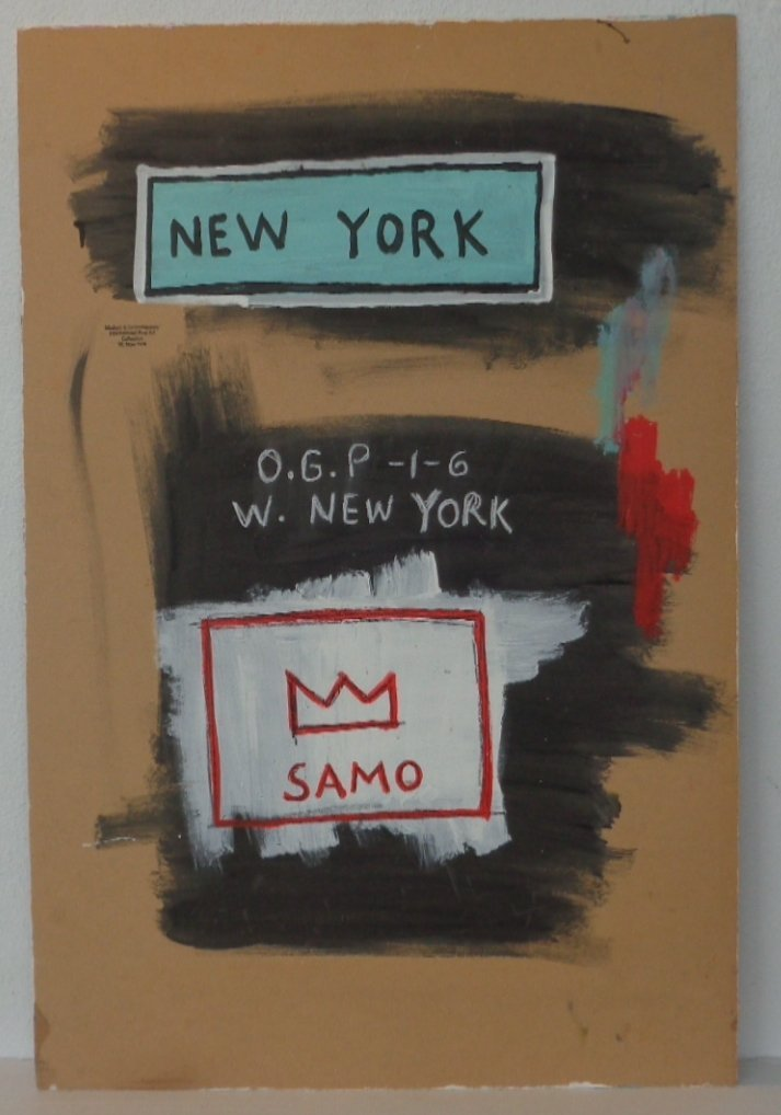 Original Painting on Canvas New York Painting Mixed Med - 3