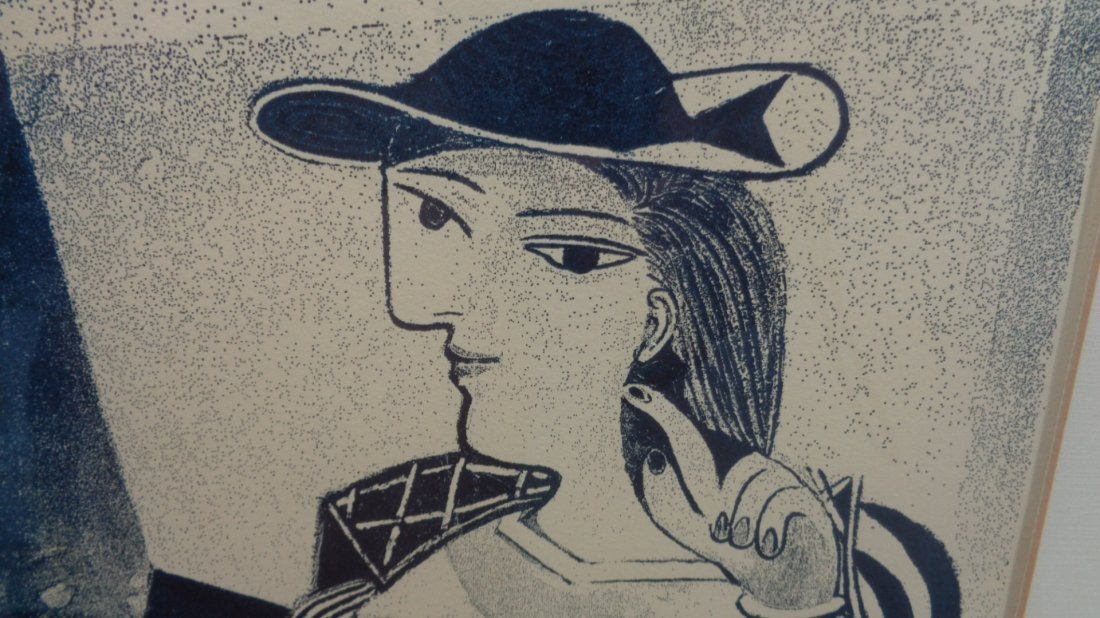"""Pablo Picasso """"Engraving Marie Therese"""" 19/26, Window - 2"""