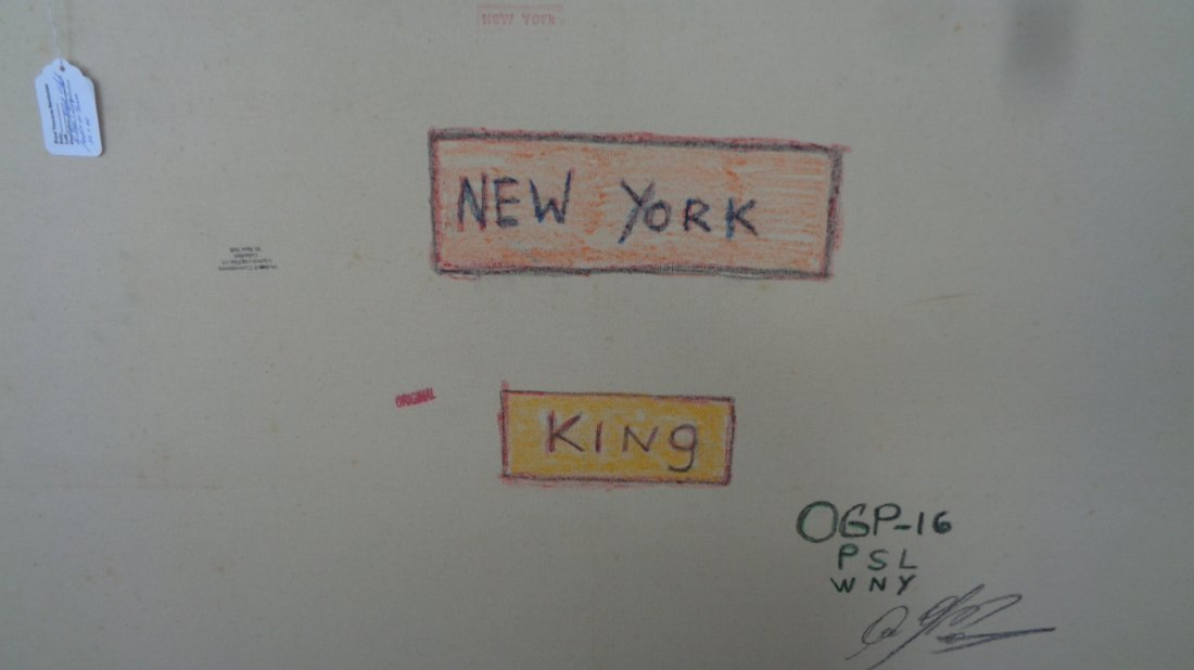 Large Contemporary Art- Basquiat - New York Painting - 2