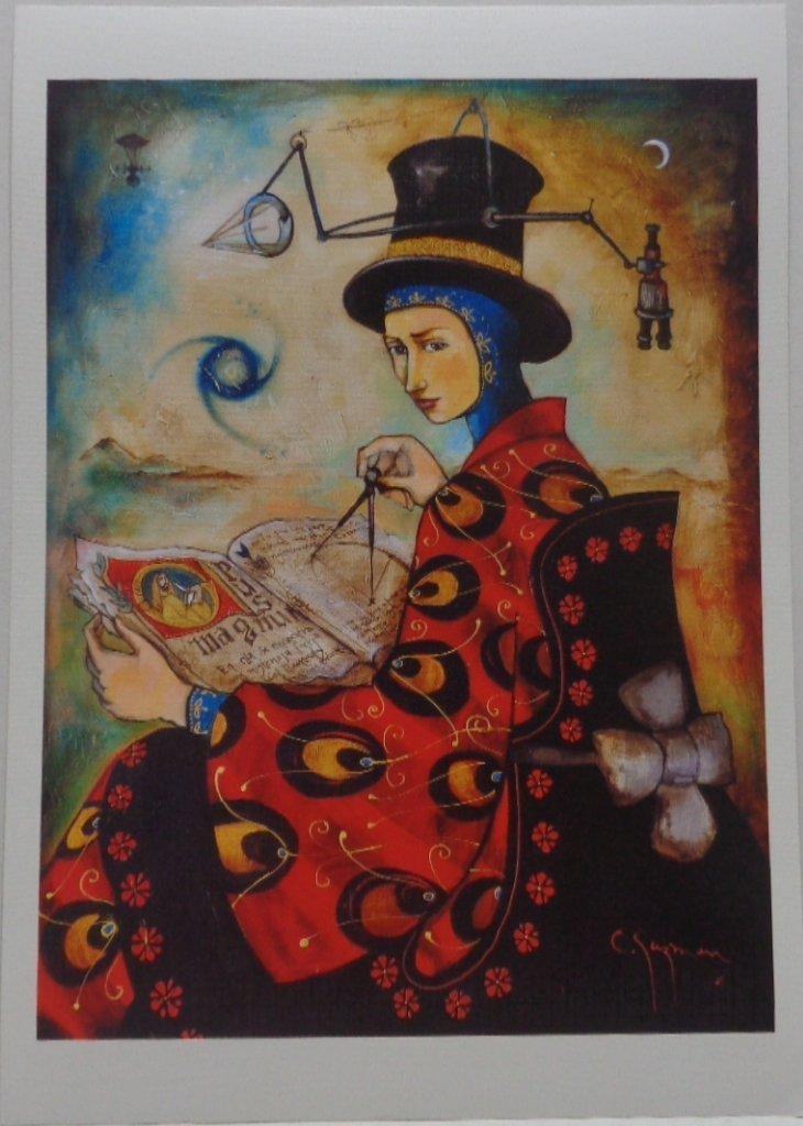 Carlos Guzman (La Gran Obra) Lithograph