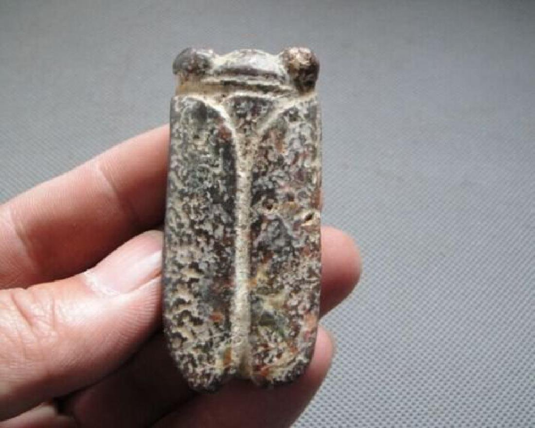 Chinese Hongshan Hand Carved Jade