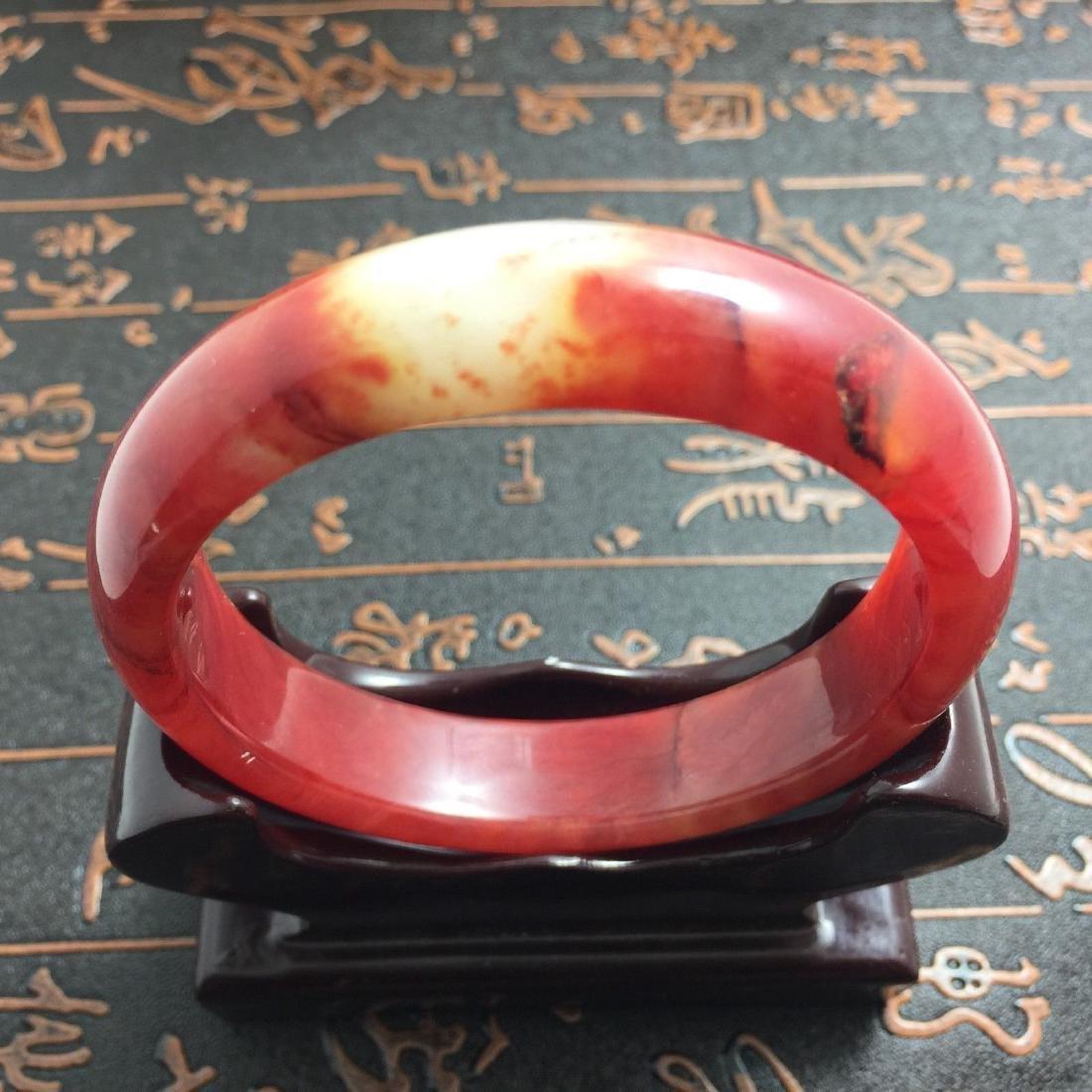 Natural Bangle Bracelet. inner: 60mm -outer: 72mm -Widt