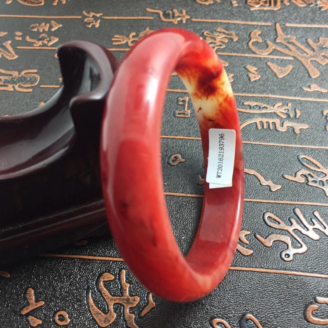 Natural Bangle Bracelet. inner: 60mm -outer: 72mm -Widt - 2