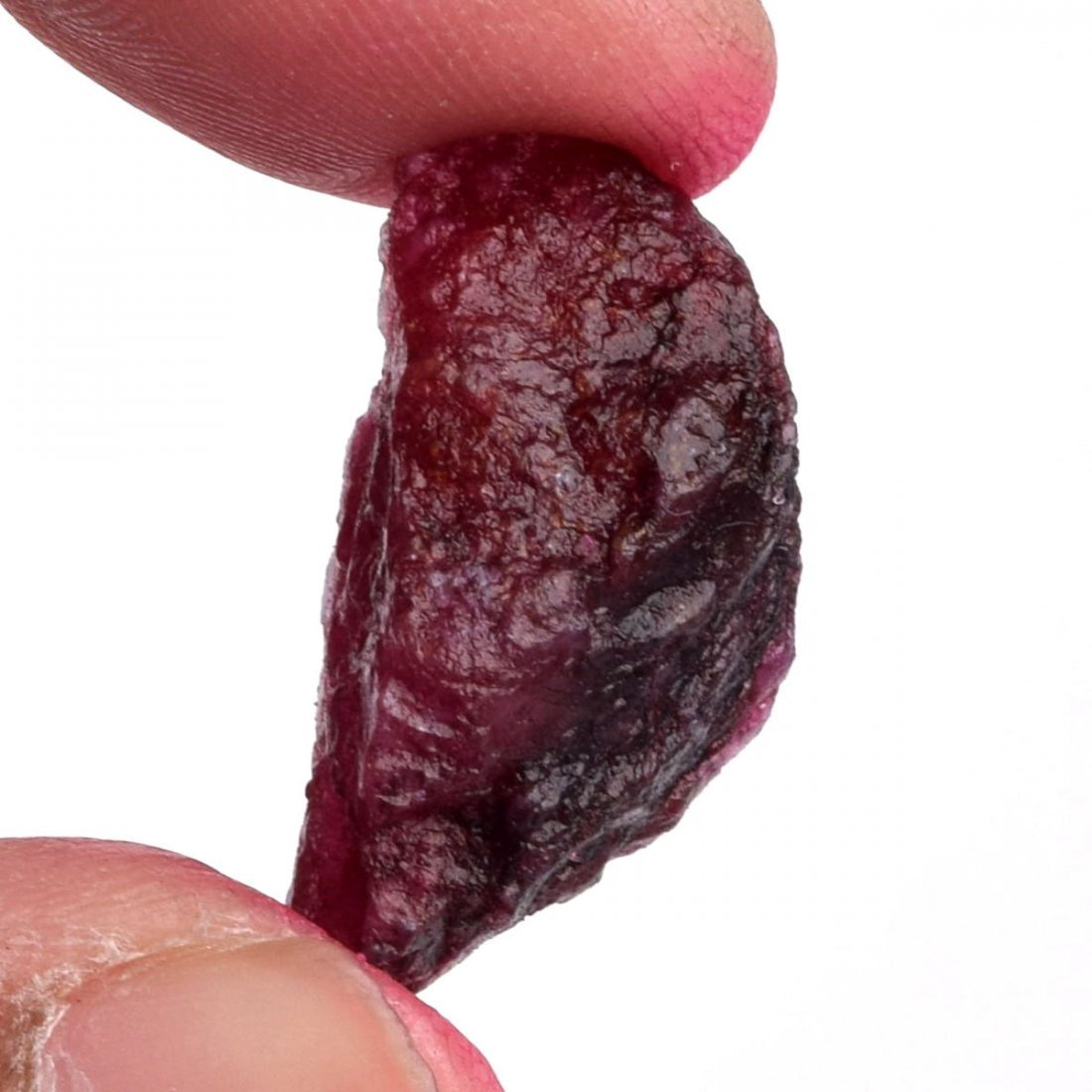 Natural Egl Certified African Red Ruby 23.50 Ct. - 3