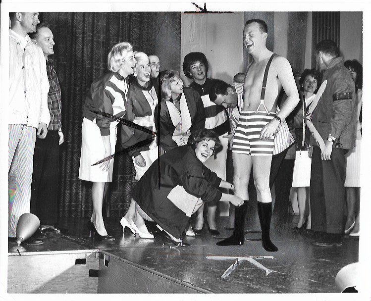 1965 Photo Clothing Bathing Suit Michigan Apparel Club