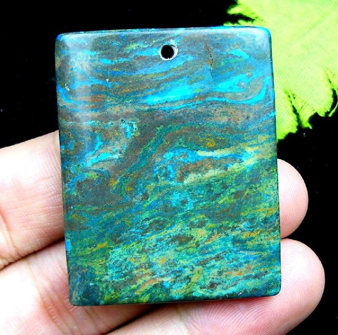 Natural Tree Grain Stone Pendant