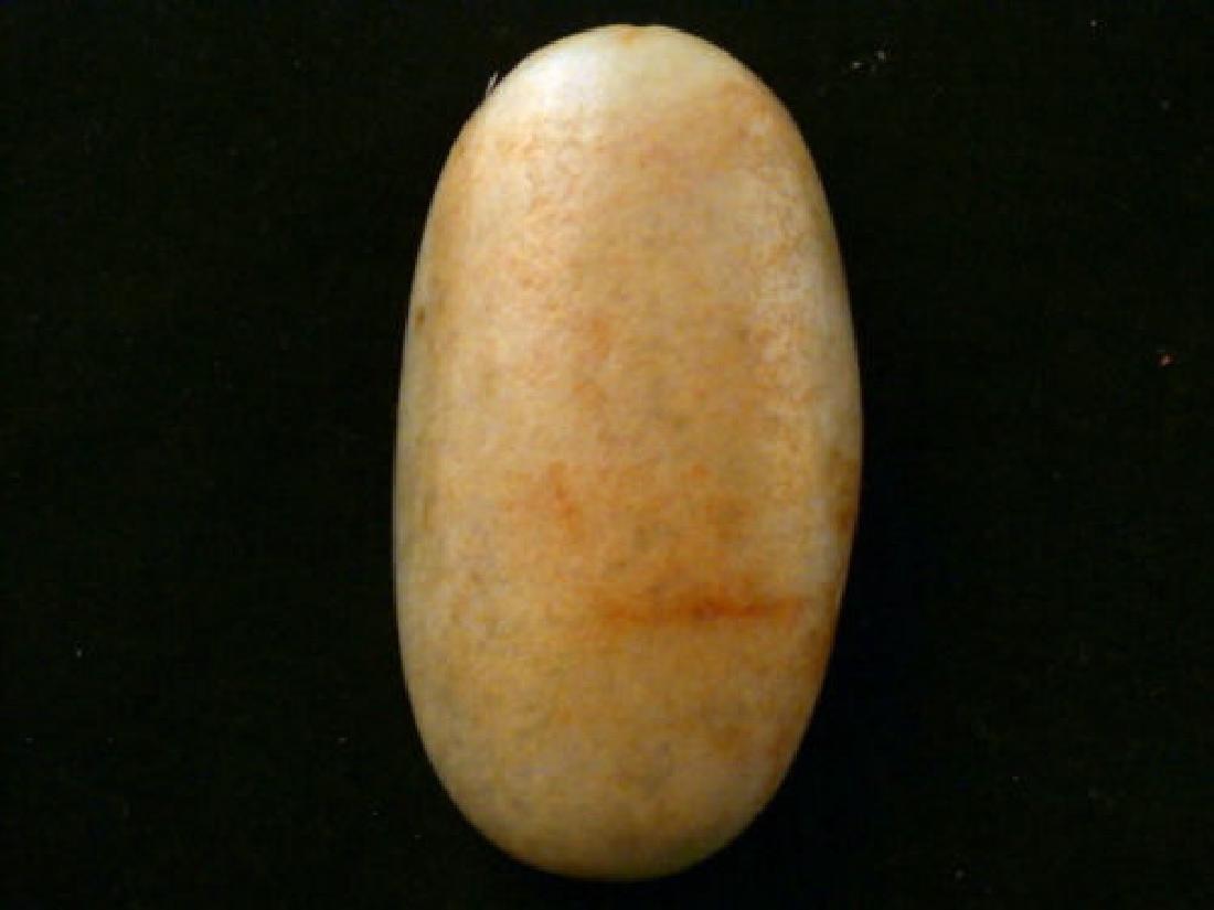 Antique Carved HeTian Jade *Bodhisattva* Chinese Jade S - 4