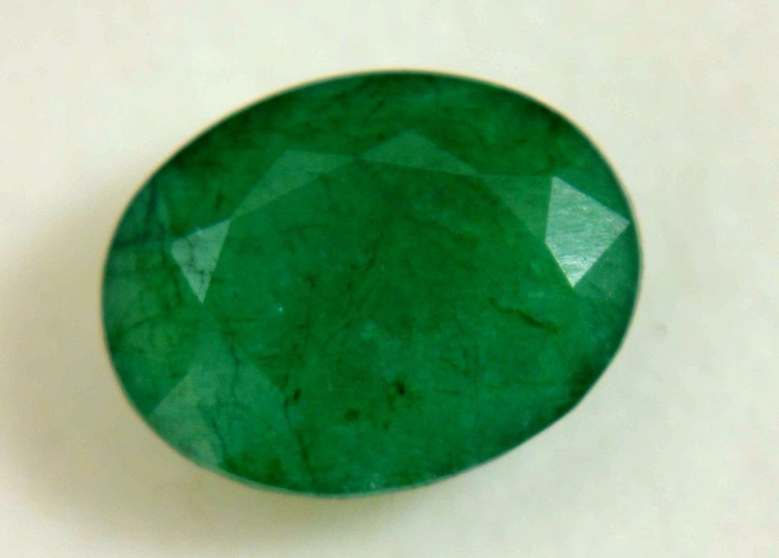 8.25 Ct Natural Colombia Green Emerald GGL Certified