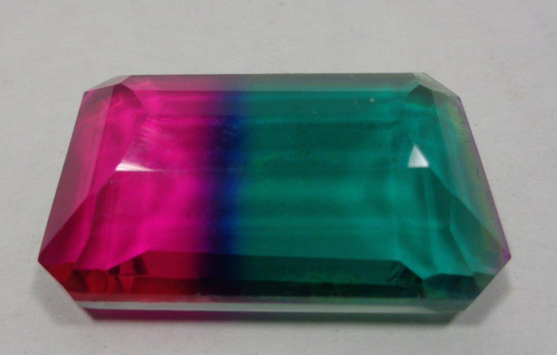 66.40 Ct IGL Certified Octagon Greenish Blue Ametrine