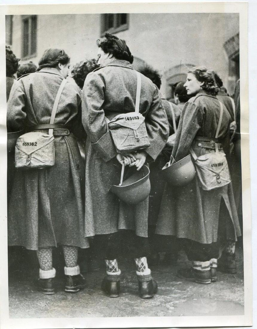 1940 Swiss Army Ambulance Corps Women in Lucerne Origin