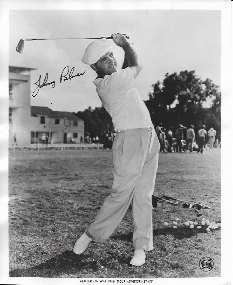 1951 Photo Golfer, Johnny Palmer