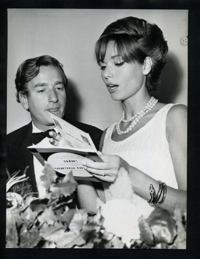 1960s ELSA MARTINELLI & WILLY RIZZO Vintage Original