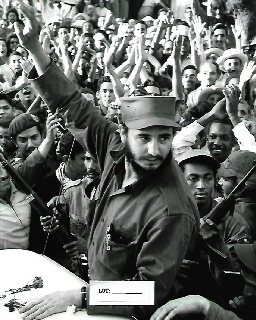 Fidel Castro (Havana 1961) -Photo