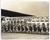 1963  Photo Horse racing at Gulfstream in Florida