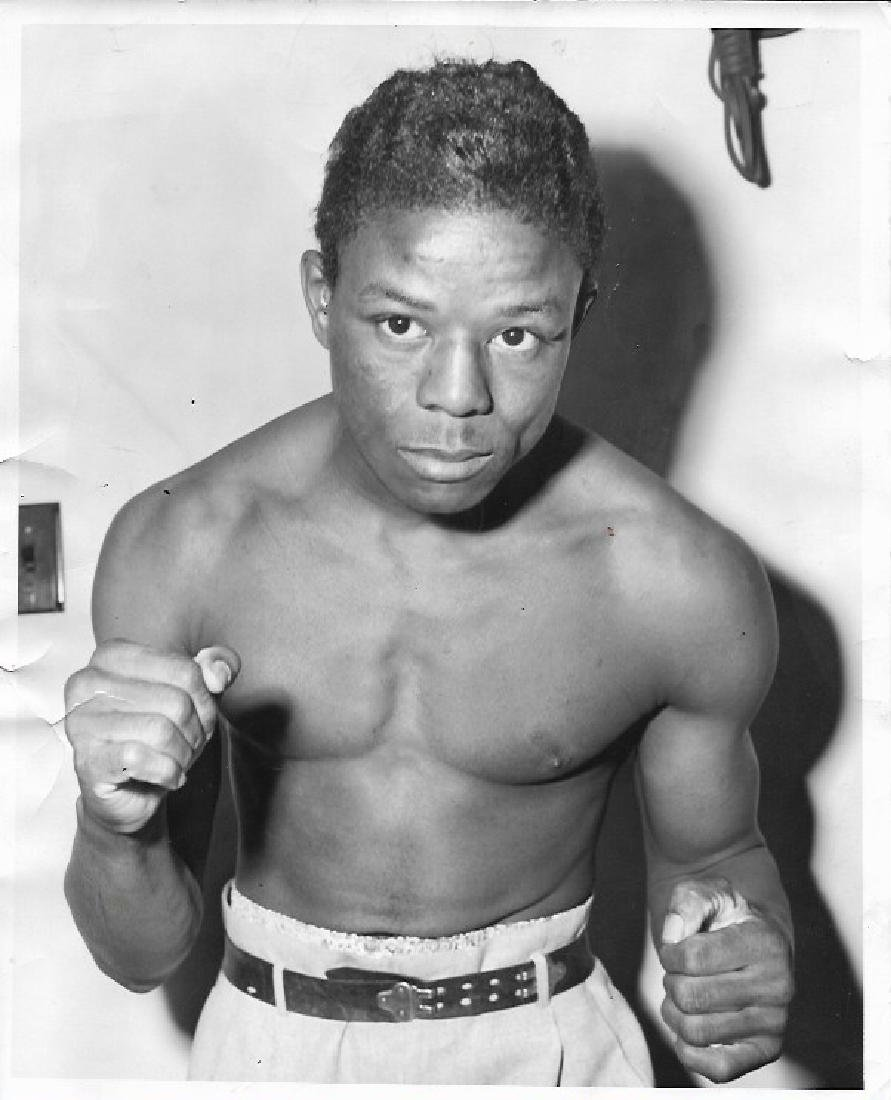 1958  Photo Virgil Akins,light weight boxer