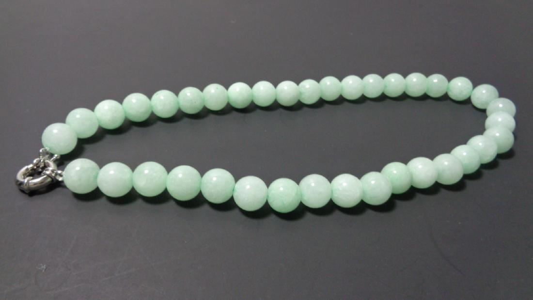 Green 100% Natural A JADE JADEITE Round 12mm Bead Bead