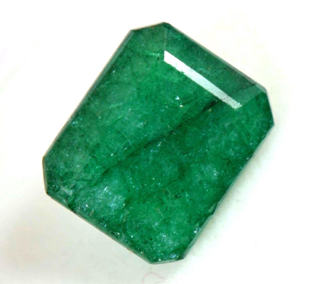 8.55 Ct Natural Green Emerald GGL Certified