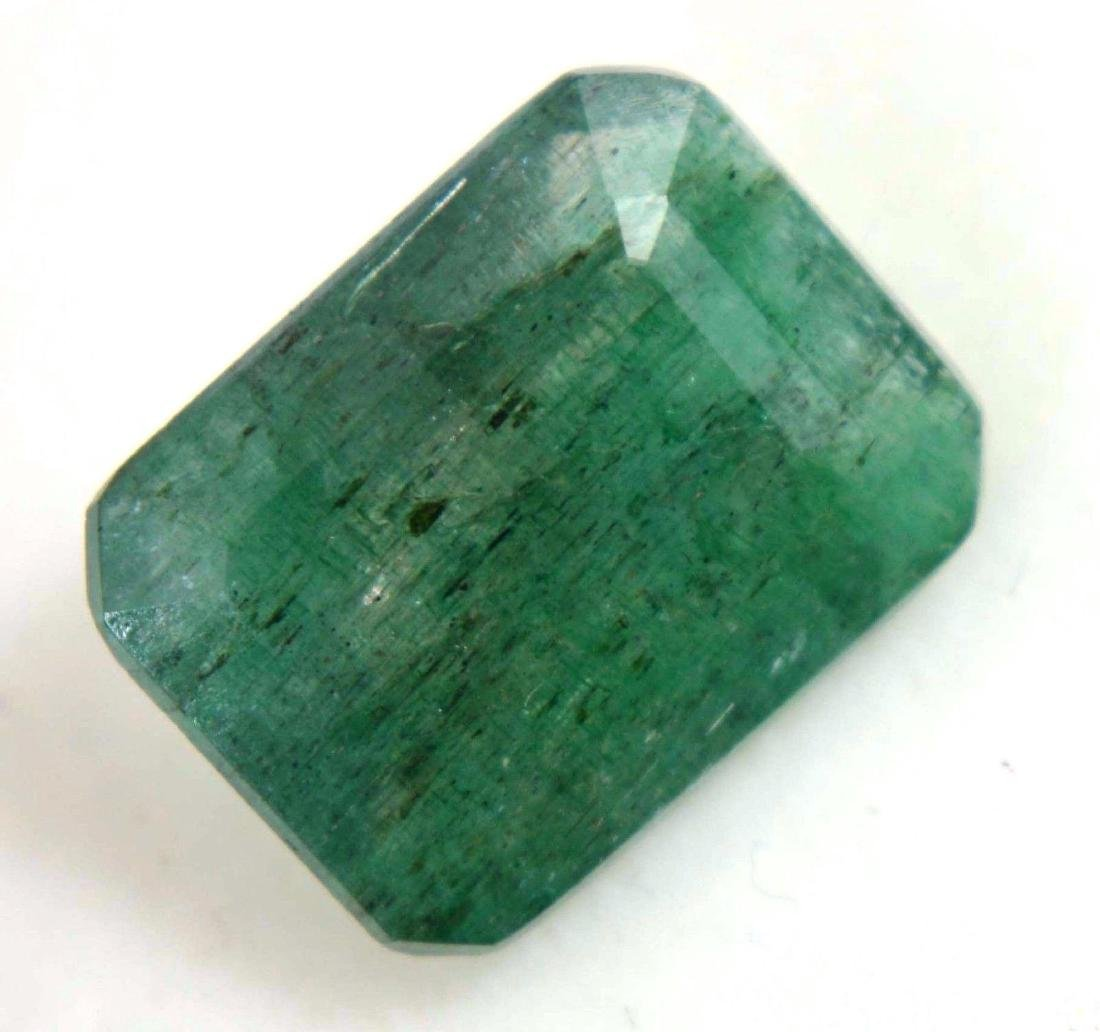 7.45 Ct Natural Green Colombian Emerald GGL Certified