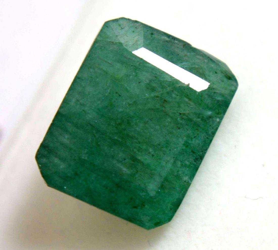 9.30 Ct Natural Green Colombian Emerald GGL Certified
