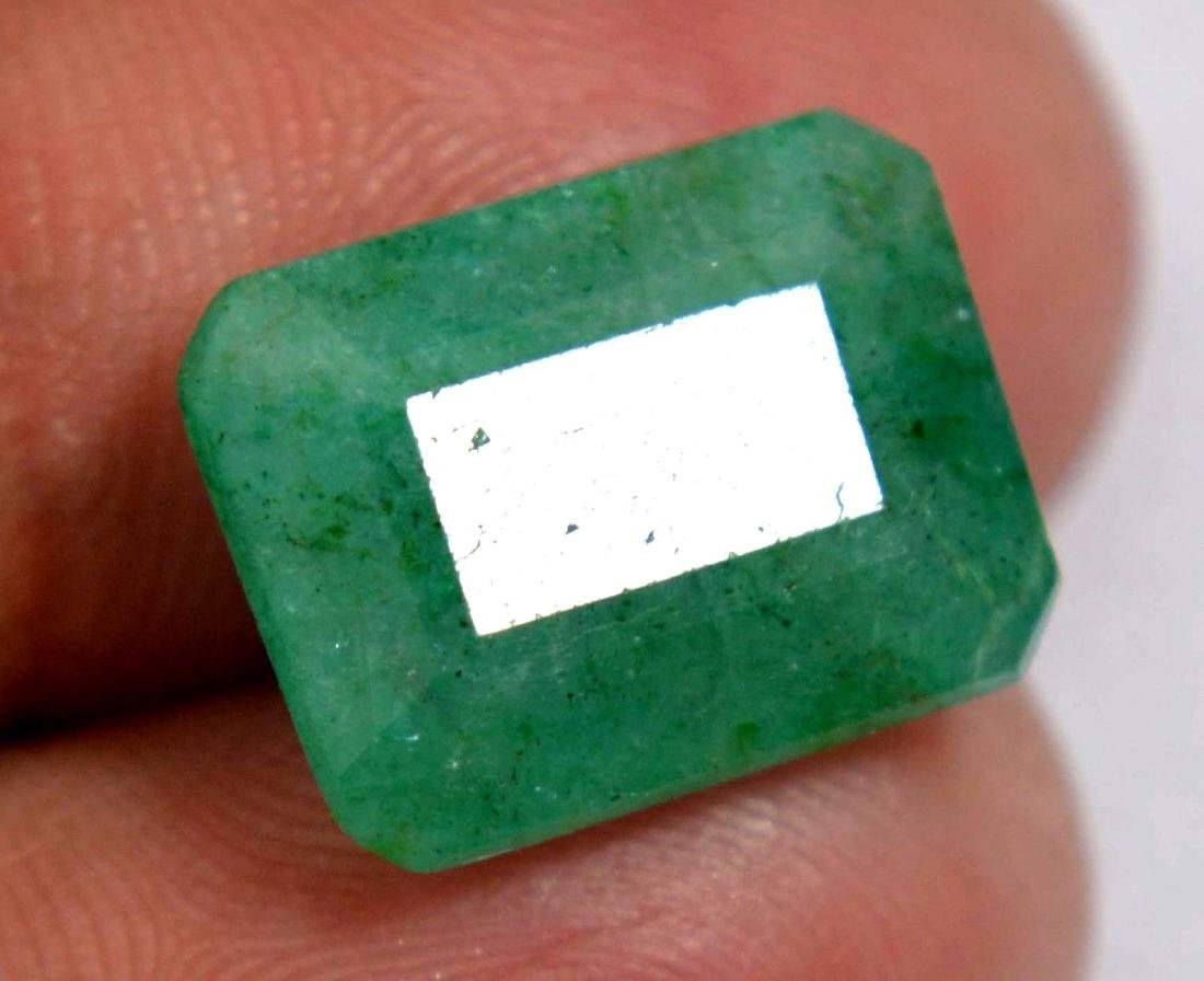 8.35 Ct Natural Green Colombian Emerald GGL Certified