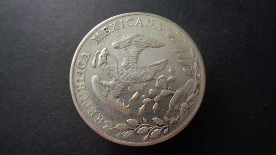 Mexican coins. Diameter : 39 MM - Weight:25g